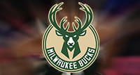 Das Logo der Milwaukee Bucks.