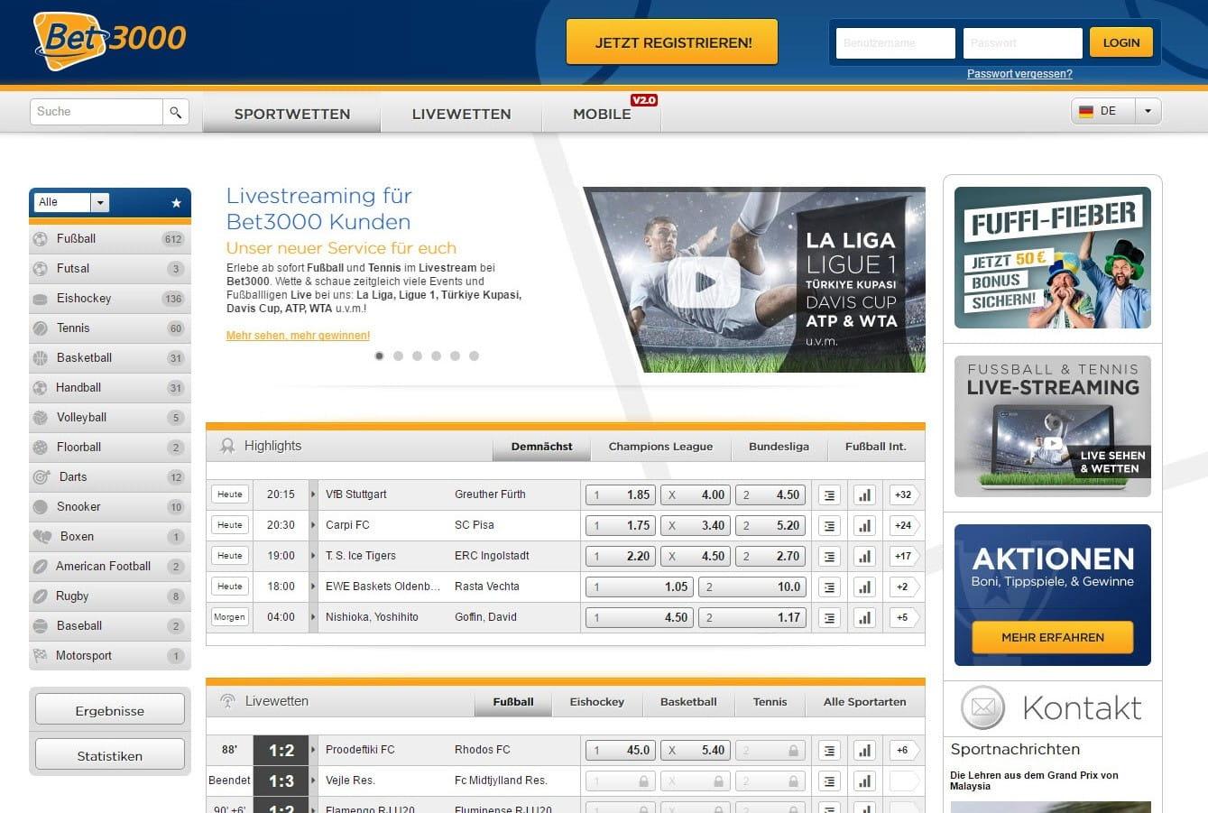 Online Sportwetten Illegal